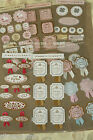 kawaii zakka JUST FOR YOU craft label Seal stickers pink rabbit gift tag sticker