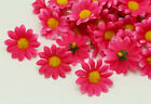 50X Gerbera Daisy Head Artificial Silk Flower Party Wedding Wholesale Dia 4cm