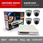 Securenet 960H 8ch CCTV Camera Kit Full D1 500GB 1TB, 2TB DVR Sony Effio 700TVL