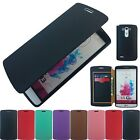 Solozen Jelly Gel TPU Leather Flip Wallet Slim Fitted Cover Case Pouch For LG G3
