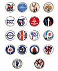 MOD badges, THE WHO THE JAM, SCOOTERS , LAMBRETTA BADGES