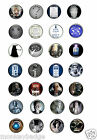 DR WHO 25mm;58mm badges doctor who,tardis,dalek,davros,cybermen,etc,etc
