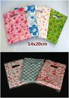 85p Reliable Plastic Gift Jewellery Bag Shopping Package Carry 14x20cm 7 Chooses