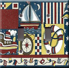 Light Switch Plate Cover - Nautical flags - Anchor saiboat compass marine naval