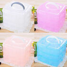 3 Layer 18 Compartments Adjustable Plastic Storage Box Organizer Cosmetic Case
