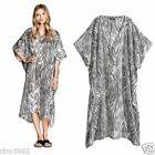 H&M KIMONO KAFTAN LOOSE FIT ZEBRA PRINT M UK 20-22 CONSCIOUS COLLECTION