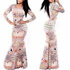 Women Maxi Celebrity Cocktail Party Evening Dress Gown Bodycon Bandage Dress