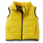 Carter's Boys Yellow Camo Lined Ripstop Puff Vest