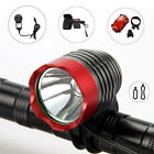 2000Lm CREE XM-L T6 LED Head Torch Bicycle Bike Light Headlight 6x18650 12000mAh