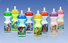 NEW!! Nuby Sippy Cup Sports Sipper Straw 10 oz Boys & girls Themes New!!