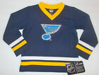 NHL St. Louis Blues Boys Jerseys Sizes 12M, 18M, 2T, 3T and 4T  NWT