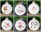 PERSONALISED My 1st First Christmas BAUBLE Gifts For Baby Babys Baby's Boy Girl