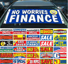 Windshield Slogan Banner Advertising Special Financing Available U Pick EZ295