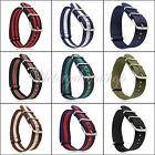 Nato Watch Band Strap Military Army Nylon Divers G10 Mens 18mm 20mm 22mm 24mm