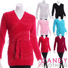 Jumper Knitted Fitted Plain Top Short Dress Long Sleeve size 8 10 12 14 16 18