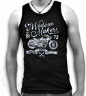 Mens Muscle T Tank Biker Hog Pistons Widow Makers Est 1972 Loud n Fast Sm-2XL