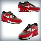 Kids Nike Air Max 90 GS  University Red-White-Metallic Cool Grey 307793-602