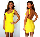 Sexy  £100 Celeb Boutique Bandage Backless Cocktail Party Evening Bodycon Dress
