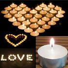 10xNew Flameless Flickering Led Tea Light Candles Battery Operated Tealights