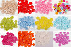 100Pcs Plastic Sewing Buttons Scrapbook 15mm 2 Holes For Craft DIY