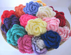 Crochet  Roses Rose,  Large Crochet Flowers Flower  in a Choice of Colours