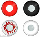 Zombie Devil Contact Lenses One Day Wear Fancy Dress Halloween Lens Special FX
