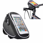 Roswheel Bike Bicycle Handlebar Mount Phone Holder Cradle Pannier Pouch Case Bag