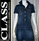 ABITO DONNA SWEET YEARS JEANS Mod. PENNY (D22) DENIM CASUAL COTONE