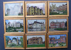 1:12 Scale Framed Picture (Print) Of A Great House Dolls House Miniature Art
