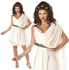 ADULT LADIES CLASSIC DELUXE TOGA FANCY DRESS COSTUME ROMAN GREEK GRECIAN OUTFIT