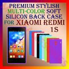 PREMIUM RICH MULTI-COLOR SOFT SILICON BACK CASE for XIAOMI REDMI 1S MOBILE COVER