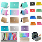 For New 2009-2014 Macbook Pro 13 15/Rubberized Crystal Hard Case +keyboard Cover