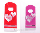 50pcs Sweet Heart Style Plastic Bags 152*90mm Party Supply &Jewelry Display