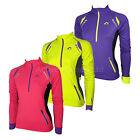 More Mile Womens Thermal Long Sleeve High Viz Running Top Ladies Cycling Sports