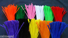 "12""  Chenille Craft Stems Pipe Cleaners - Various Colours Plain and Metallic"