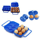 1X Folding Plastic Eggs Carry Case Box (For 2/6/12 eggs) for Picnic Container MO