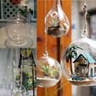1X Romantic Wedding Dinner Decor Crystal Glass Hanging Candle Holder Candlestick