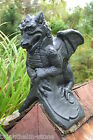 BLACK DRAGON ROOF FINIAL Half Round or Angled Ridge frostproof stone St. Georges