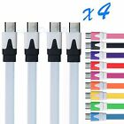 4x Micro USB Charger Charging Sync Data Cable For Samsung Galaxy S3 S4 Note 2
