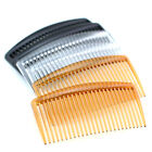 flat top plastic hair comb accessories Black white brown assorted 75mm 28-16-271