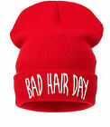 Beanie Hat Men's Women's Pop gift Unisex Warm Winter Fashion Hat Bad Hair Day