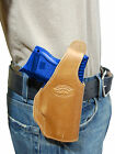 New Barsony Tan Leather OWB Holster for Sig-Sauer Compact, Sub-Compact 9mm 40 45