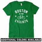 Boston is for Cyclists Women's T-shirt - Massachusetts Cycling Bike - S to 2XL