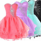 CHEAP Sweetheart Short Party Bridesmaids/ Homecoming/ Graduation Prom Dress Gown