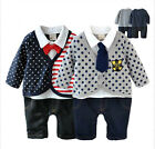 Toddlers Boy Kids Smart Casual Clothes Outfit, Polka Dot, Star & US Flag 1 2 3T