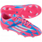 adidas F10 TRX FG 2014 Soccer Shoes Pink / Blue /  White Brand New Kids - Youth
