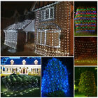 3M*2M 6M*4M Fairy String Xmas Tree Net Mesh Curtain Ceiling Light Outdoor/Indoor