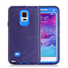 Premium Rugged Heavy Duty TPU PC Case Cover Belt Clip Holster For Samsung Galaxy