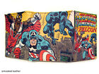 Marvel Comics Super Hero Classic Cover Art - Trifold & Slimfold Leather Wallets