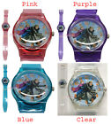Disney Frozen Elsa Anna Sven Enfants Filles Montre Girl Children Watch 4 Couleur
